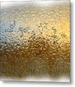 Bestiaire Jaune Or / Golden Bestiary Metal Print