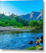 Betari River-1 Metal Print by Fabio Giannini