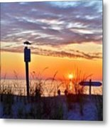 Sunrise In Paradise 2 Metal Print