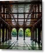 Bethesda Terrace Arcade 2 Metal Print
