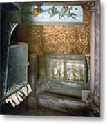 Bethlehem - Nativity Church 1890 Metal Print