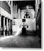 Bethlehem - Nativity Church Year 1887 Metal Print