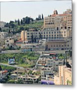 Bethlehem In Spring Metal Print