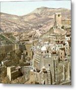 Bethlehem Mar Saba Monastery Metal Print