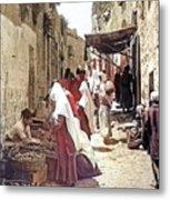 Bethlehem Market 1900 Metal Print