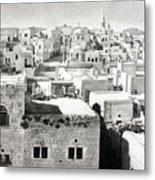 Bethlehem Old Town Metal Print