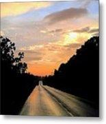 Bethlehem Road Sunset Metal Print