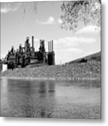 Bethlehem Steel Metal Print by Michael Dorn