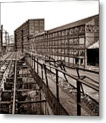 Bethlehem Steel Number Two Machine Shop Metal Print