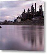 Bethlehem Steel Sunset Metal Print
