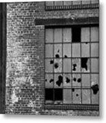 Bethlehem Steel Window Metal Print