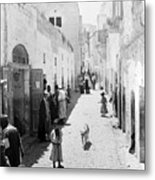 Bethlehem The Main Street 1800s Metal Print
