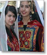 Bethlehem Young Girls Metal Print