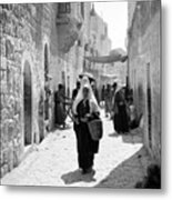 Bethlehemite Going To The Market Metal Print