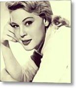 Betsy Palmer, Vintage Actress Metal Print