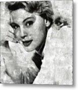 Betsy Palmer Vintage Hollywood Actress Metal Print