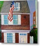 Betsy's House Metal Print