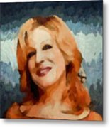Bette Midler Collection - 1 Metal Print