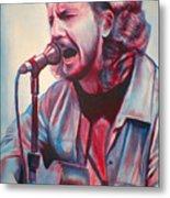 Betterman Eddie Vedder Metal Print by Derek Donnelly