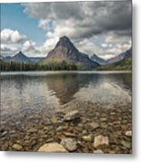 Between A Rock And A Beautiful Place Metal Print