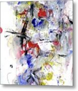 Between Jazz And The Blues Metal Print