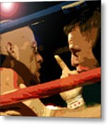 Between Rounds Metal Print