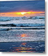 Between The Sky And The Waters Metal Print