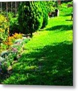 Beutifull Garden Metal Print