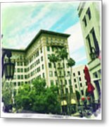 Beverly Hills Rodeo Drive 3 Metal Print