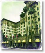 Beverly Hills Rodeo Drive 4 Metal Print