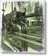Beverly Hills Rodeo Drive 8 Metal Print