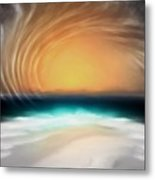 Beyond The Blue Horizon - Series 20 Metal Print