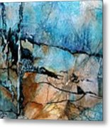 Beyond The Forest Line Metal Print