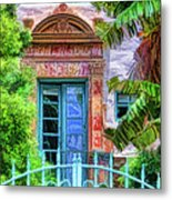 Beyond The Gate  Metal Print