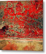 Beyond The Peeling Paint Metal Print