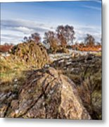 Beyond The Rocks Metal Print