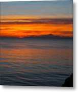 Beyond The Shore Metal Print