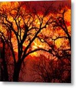 Beyond The Sunset  Metal Print