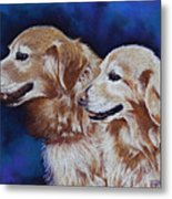 Bff Best Friends Forever Metal Print