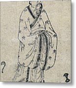 Bian Que, Ancient Chinese Physician Metal Print