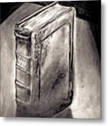 Bible Drawing While In The Crisis Center Metal Print