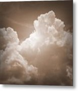 Biblical Clouds Metal Print