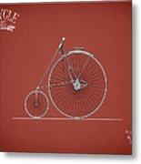 Bicycle 1885 Metal Print