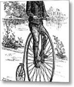 Bicycle, C1870s Metal Print by Granger