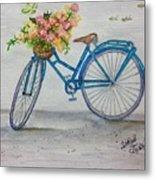 Bicycle I Metal Print