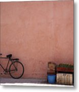 Bicycle Marrakech  Metal Print