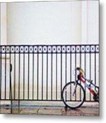 Bicycle New Orleans  Metal Print