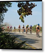 Bicycle Race Metal Print