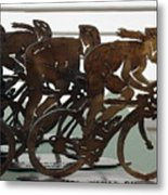 Bicycle Trophies Metal Print