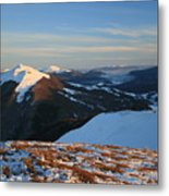 Bieszczady Mountains Poland Metal Print